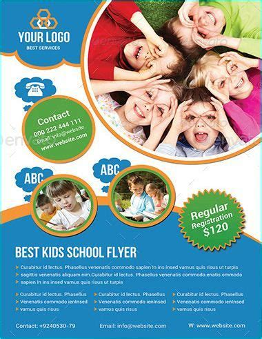 free templates for school flyers 20 professional educational psd school flyer templates