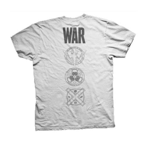 t shirt 30 second to mars 3 official t shirt 30 seconds to mars war white tiger all sizes