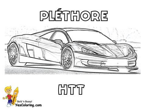corvette car coloring pages