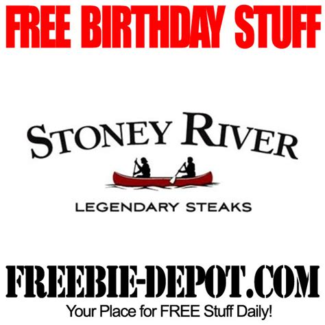 BIRTHDAY FREEBIE ? Stoney River Legendary Steaks   Freebie Depot