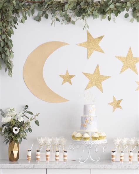 ideas para un baby shower con tematica de estrellas y lunas 17 decoracion de fiestas