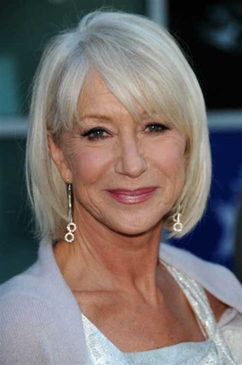 bangs for over 60 woman recommended short hairstyles for women over 60 with fine hair