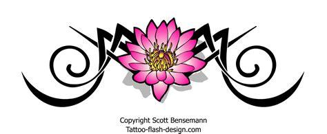 tattoo flash lotus flower tribal lotus flower tattoo design pink free flash