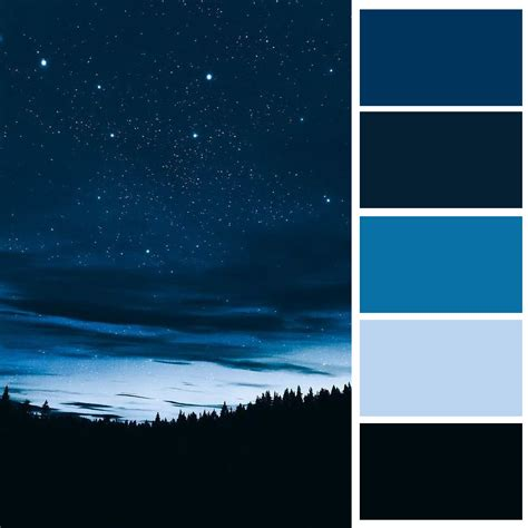 what is monochrome color monochrome colour palette of a starry a forest