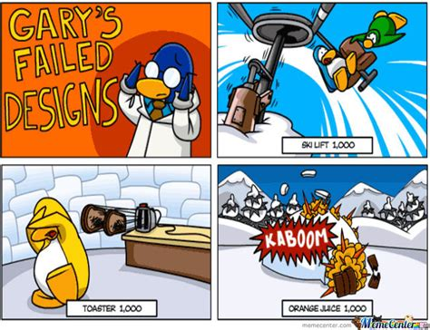 Club Penguin Memes - pin club penguin meme center on pinterest