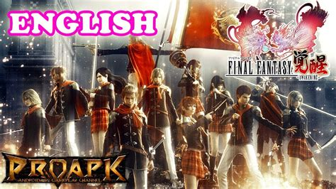 fb final fantasy awakening final fantasy awakening english gameplay android ios
