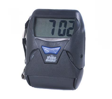 quot shake awake quot portable vibrating alarm clock qvc