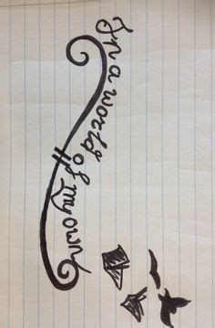 in a world of my own tattoo january 28 2014 sketch for in a world of my own