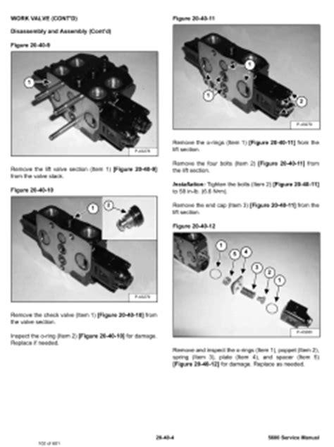 Bobcat Toolcat Work Machines, Service Manuals and