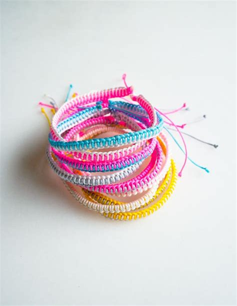 Breezy Friendship Bracelets   Purl Soho