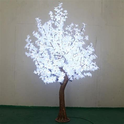 2 7meters 1200pcs artificial christmas trees with white
