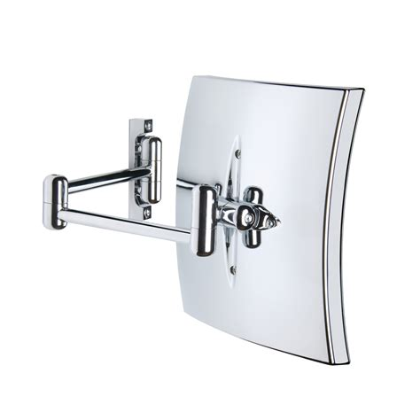 Bathroom Mirror Wall Mount Led Lighted Wall Mounted Magnifying Mirror Ws Bath Collections Touch Of Modern