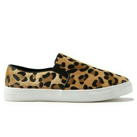 cotton on leopard slip on shoes from katherine s