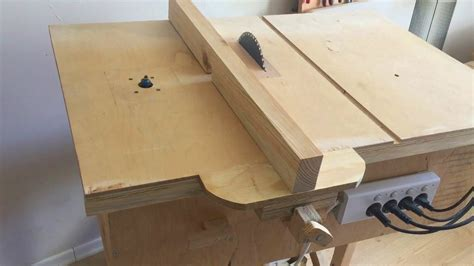 table saw router table building 4 in 1 workshop table saw router table