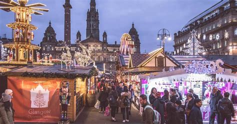 glasgow christmas markets will go ahead at george square