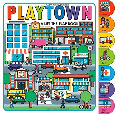 Playtown Emergency playtown a lift the flap book desire l20