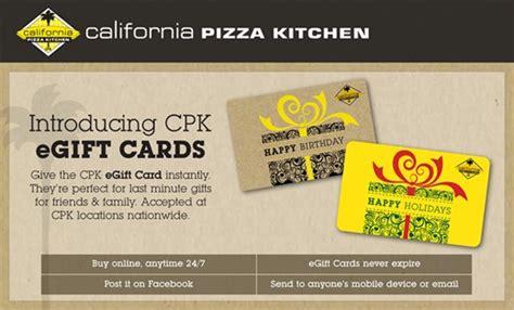 California Pizza Kitchen Gift Card Online - california pizza kitchen gift card deal the coupon challenge