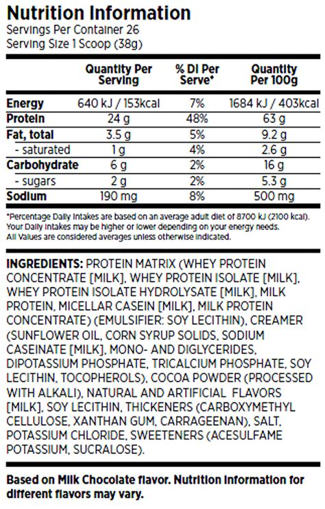 protein 7 synthesis nutrition facts bsn syntha 6 edge protein 4 lbs advantagesupplements
