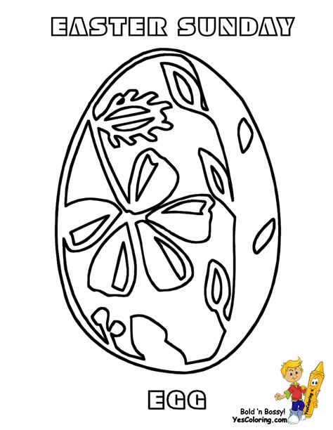 fancy easter egg coloring pages free easter basket