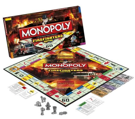 monopoly firefighter edition christmas gift for my
