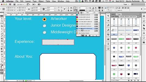 creating forms indesign how to create interactive forms with adobe indesign youtube
