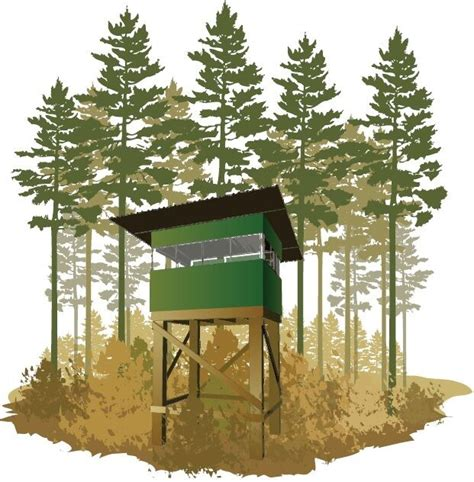 deer stand box blind plans portable build   easy