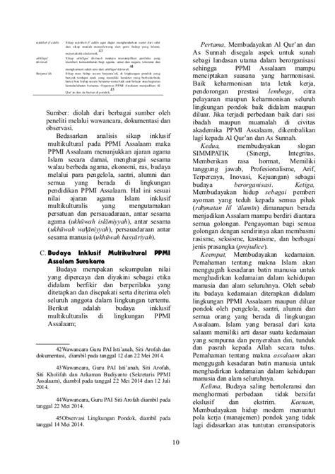 ajaran agama islam inklusivitas ajaran agama islam dalam pendidikan multikutiral