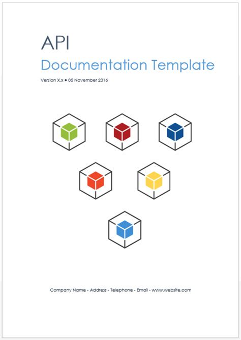 rest web api documentation template ms word technical writing tips