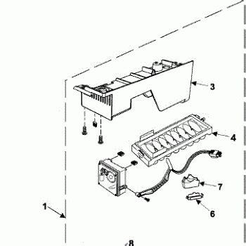 samsung refrigerator maker parts diagram parts for samsung rb215lash maker parts