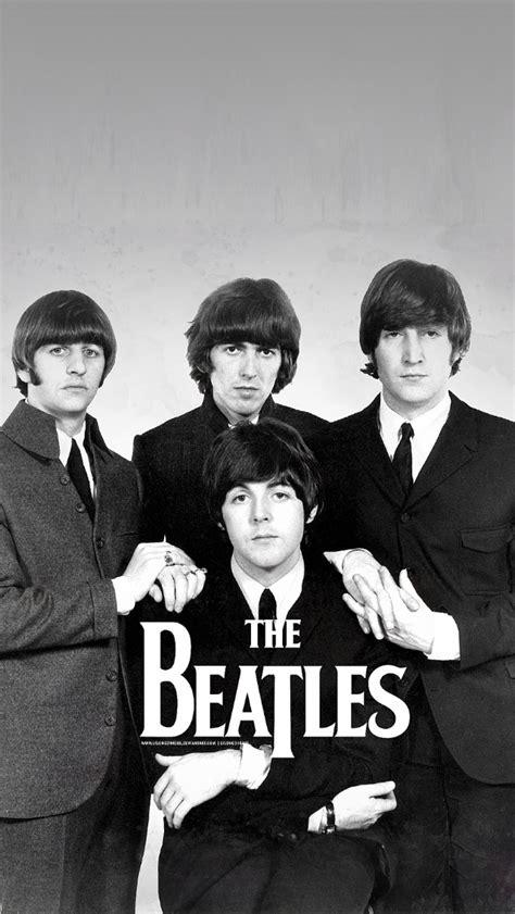 The Beatles 5 freeios7 the beatles posing parallax hd iphone