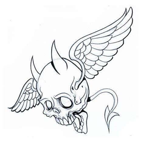 tattoo flash stencils 33 best angel skull tattoo flash images on pinterest