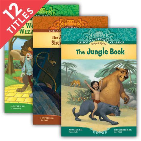 calico illustrated classics gt series gt abdo calico illustrated classics set 4 midamerica books