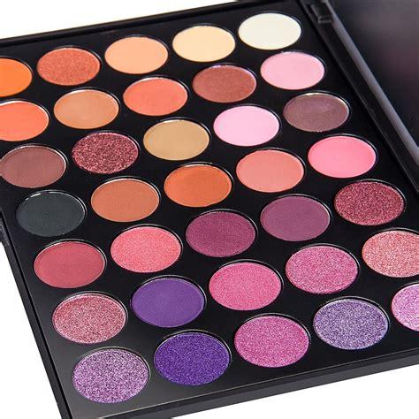 makeup palette de lanci 35 color eyeshadow makeup palette set