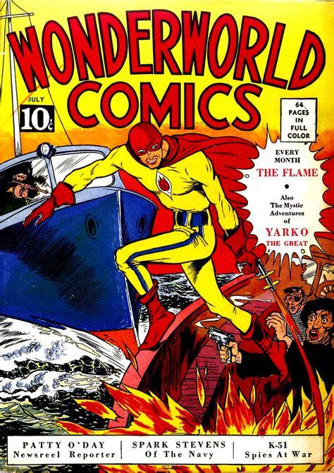 Novel Flames Original comics
