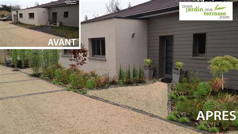 Idee Amenagement Jardin Devant Maison 1536 by Amenager Jardin Devant Maison Cp99 Jornalagora