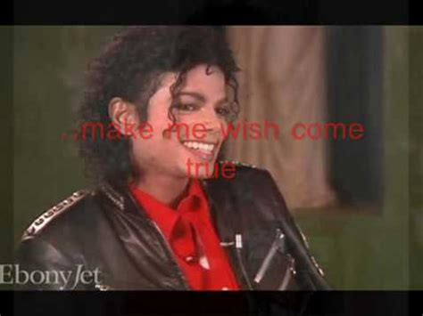 Some Broad Wants Michael Jacksons by Michael Jackson All I Want For Is You