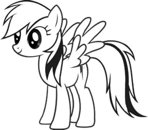 my little pony cute coloring pages cute my little pony coloring pages rainbow dash