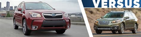 Compare Subaru Forester And Outback by Secor Subaru New Subaru Dealership In New Ct 06320