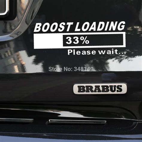 Lustige Autoaufkleber Diesel by Online Kaufen Gro 223 Handel Vw Turbo Aufkleber Aus China Vw