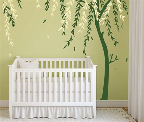 Baby Nursery Wall Decor Ideas Baby Boy Nursery Ideas Stick On Wall Tree Decals For Walls