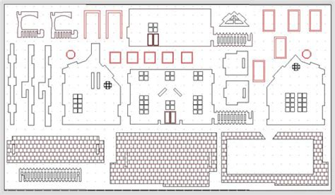 doll house plan free download country doll house free dinosaur skeleton and other models dxf files page 245