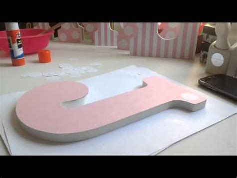 How To Make Paper Letters For Your Wall - diy how to decorate wooden letters 1