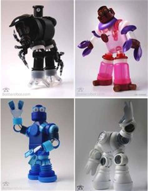 robots de trozos de botellas como hacerlos 1000 images about reutilizando botellas y envases de
