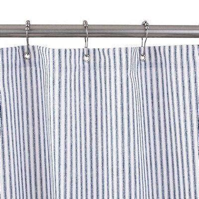 no liner shower curtain blue shower curtain no liner needed made in usa olde