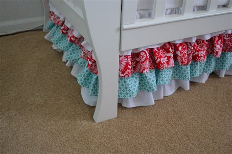 Ruffled Crib Skirt Tutorial by Best 25 Crib Skirt Patterns Ideas On Crib