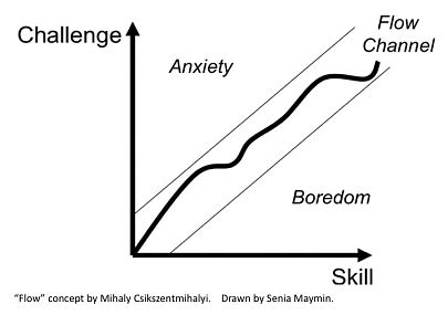 Michaela Flow 4 experience phases in gamification 3 the scaffolding