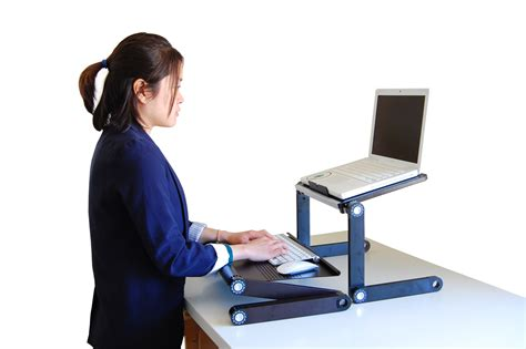 sit standing desk workez sit stand workstation review
