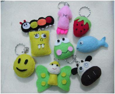 Gantungan Kunci Karakter Dari Kain Flanel Murah Untuk Ultah fyns collection we are the best souvenir project