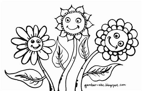 mewarnai gambar bunga matahari gambar mewarnai the knownledge
