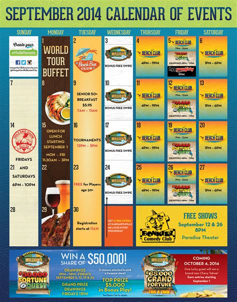 Margaritaville Resort Casino Bossier Cityevents Promotions Mohegan Sun Buffet Coupon
